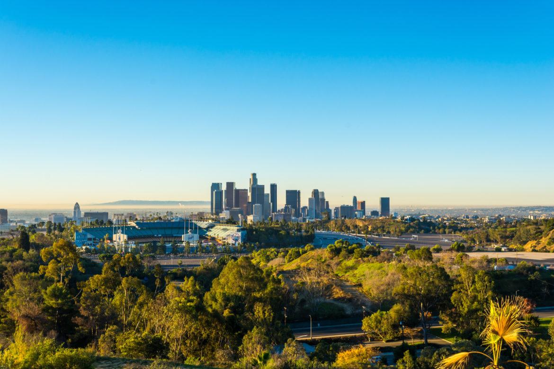The city of LA