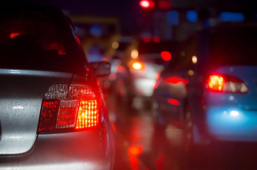 A car crash in Orange County